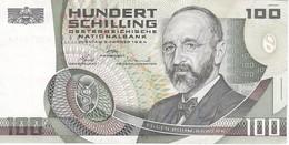 BILLETE DE AUSTRIA DE 100 SCHILLING DEL AÑO 1984 EN CALIDAD EBC (XF) (BANKNOTE-BANK NOTE) - Austria