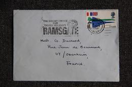 Lettre De GRANDE BRETAGNE ( RAMSGATE ) Vers FRANCE - 1952-.... (Elizabeth II)