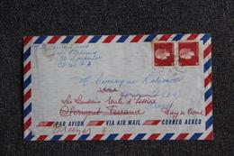 Lettre Du CANADA Vers FRANCE - 1952-.... Regno Di Elizabeth II
