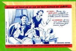 BUVARD & Blotting Paper : Autour Du Lait Famille Papa Maman    N°8 - Dairy