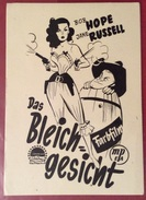 CINEMA  AUSTRIA SALZBURG 2/9/1950  FILM DAS BLEICH GESICHT IL FIGLIO DI VISO PALLIDO CON BOB HOPE  E JANE RUSSEL - Fotografia