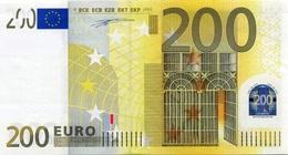 EURO BELGIUM 200 Z T001 UNC DUISENBERG - EURO