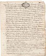 1773 - Parchemin Manuscrit  (2  Pages) Cachet Généralité De Rouen De 2 Sols - Seals Of Generality