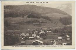 Mont-Saxonnex-Pincru-Hameau-Les Fontaines Et ...(Légère Corne D'angle Bas Droite,légère Pliure Côté Gauche Vers Le Bas) - Other Municipalities