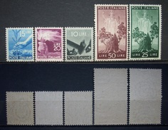 Italien Markenlot 1945 - 1946** Aus.Mi.Nr.697 - 703 Postfrisch      (R440) - 6. 1946-.. República