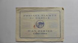 Grèce  :Petit  Album  De Timbres 1940 - 1944 Neufs Charnière - Collections