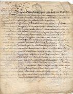 1751 - Parchemin Manuscrit Sur Peau (2  Pages) Cachet Généralité De Rouen De 2 Sols - Seals Of Generality