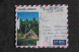 Lettre Recommandée De NOUMEA Vers FRANCE (34) - Briefe U. Dokumente