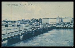 PERNAMBUCO - Ponte Mauricio Nassau.( Ed. L.C. P. Nº 15452)  Carte Postale - Recife