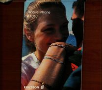 X ERICSSON MOBILE PHONE A1018 MANUALE - Telefonia