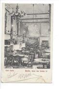18495 - Berlin Café Opéra Unter Den Binden - Dresden