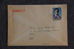 Lettre D'ESPAGNE Vers FRANCE (30) - 1931-Hoy: 2ª República - ... Juan Carlos I