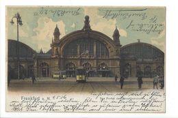 18497 - Frankfurt Das Portal Des Hauptbahnhofes - Frankfurt A. Main