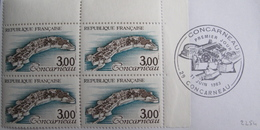 LOT R1624/185 - 1983 - N°2254 BLOC NEUF** / COIN DE FEUILLE / CàD 1er Jour - France