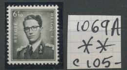 1069A  ** 6F50 Roi Baudouin Type Marchand    Cote 105 Euros  Postfris - Belgium