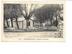 02-HARTENNES Et-TAUX -( Oulchy-le-Chateau)-Une Vue De La Plaçe De La Fontaine- - France