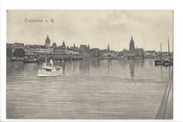 18499 - Frankfurt  Bateau Circulée En 1907 - Frankfurt A. Main