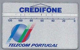 PT.- Telecomcard. Portugal Telecom. CREDIFONE. Vamos Ao Seu Encontro!. 2 Scans - Portugal