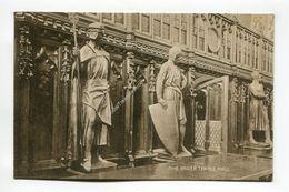 Effigies Of Knights Templar And Hospitaliers The Inner Temple Hall - London