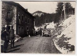 AUTO CAR VOITURE MILITARI MONCENISIO? - FOTO ORIGINALE 1919 - Cars