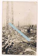 1914/1915 Tranchée Fortifiée Allemande Boucliers Abris Et Par^pets Retournés 1 Carte Photo Ww1 14-18 1wk - War, Military