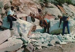 CARRARA Cave Di Marmo Taglio Con Filo Elicoidale - Carrara