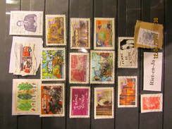 Frankreich  Mix Set Stamps Of France Francia Frankrijk Small Selection Of Fine Used 237 - France