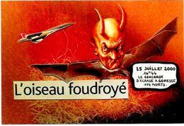 CPM Concorde Aviation Tirage Limité En 100 Exemplaires Signés Gonesse Diable Krampus - 1946-....: Moderne