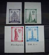 Alliierte Besetzung Französische Zone Baden 1949** Mi.Nr.38B - 41B Postfrisch     (R454) - Zona Francese