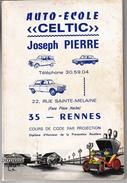 Code Rousseau Auto-école 1978 - Code De La Route Illustré - 130 Pages - Kultur