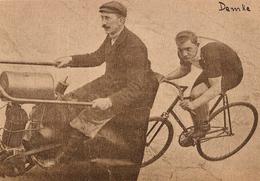 Carte Postale Ancienne CPA / Ansichtskarten AK  : Demke - Cyclisme