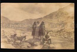 Tarjeta Postal Tipo Foto Peru Oroya Tennis Players Dog Real Photo Postcard Rppc (w4_3704) - Perú
