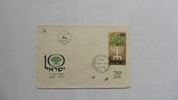 Asie > Israel :Marcophilie Lettre  Du 21-4-1958 - Non Classés
