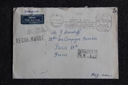 Lettre Recommandée De MOSCOU Vers FRANCE - 1923-1991 USSR