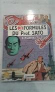 BD BLAKE ET MORTIMER - LES 3 FORMULES DU PROFESSEUR SATO- 1977- ETAT NEUF - Blake & Mortimer