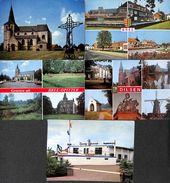 Limbourg - Petit Lot 5 Cartes (Bree, As, Dilsen, Dancing Savannah) (Limbourg) - België