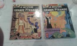 2BD LE MYSTERE DE LA GRANDE PYRAMIDE 1ERE PARTIE 1972- 2 EME PARTIE 1972 - ETAT NEUF - Blake & Mortimer