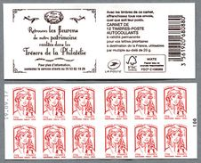 """Ciappa Et Kawena """"Trésors De La Philatélie"""" Avec Timbres Lettre Prioritaire 20g Daté 19/09/17 - Carnets"""