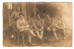 CARTE PHOTO MILITARIA POLOGNE SOUVENIR DE HAUTE SILÉSIE GLEIWITZ 7 JUIN 1921 GLIWICE GLIWICY - LETELLIER ROBERT - 2 Scan - Other