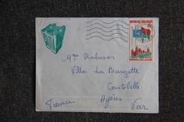 Lettre De MADAGASCAR ( ARIVONINAMO) à FRANCE - Madagaskar (1960-...)