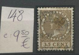 Yv. 148  35c  Ø  Coté  9,50 E - 1891-1948 (Wilhelmine)
