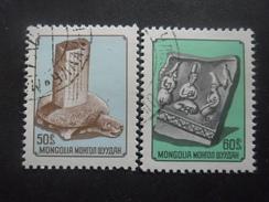 MONGOLIE N°878 Et 879 Oblitérés - Timbres