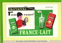 BUVARD : FRANCE LAIT   Lait Ecreme En Poudre Regilait - Dairy