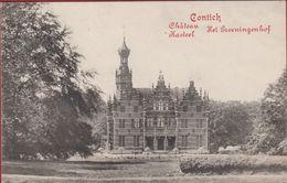 Kontich Contich Chateau Kasteel Het Groeningenhof ZELDZAAM 1914 (In Zeer Goede Staat) - Kontich