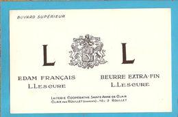 BUVARD & Blotting Paper : Laiterie Cooperative (Beurre) Claix Par Roullet (Couleur Blanc) - Dairy