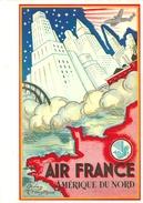 MENU AIR FRANCE VENISE - PARIS - 13 JUIN 1980 - VOYAGE PRESIDENTIEL - SOMMET EUROPEEN - Menus