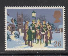 Great Britain 1990 MNH Scott #1342 26p Caroling Christmas - Noël