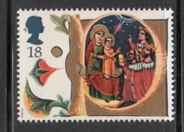 Great Britain 1991 MNH Scott #1416 18p Illuminated Letter P - Christmas - Noël