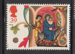 Great Britain 1991 MNH Scott #1420 39p Illuminated Letter N - Christmas - Noël