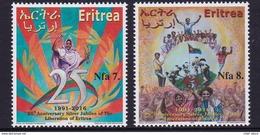 Eritrea 2016 25 Anniv. Liberation Befreiung Rare Mnh - Eritrea